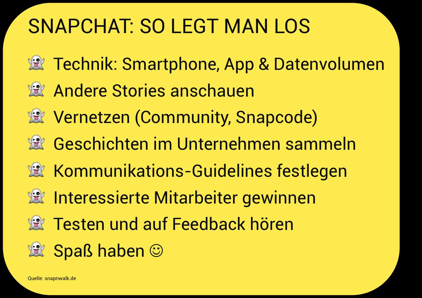 Snapnwalk Snapchat Unternehmen loslegen.png